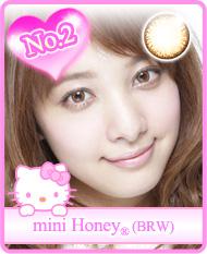 mini honey brw(ミニハニーブラウン)