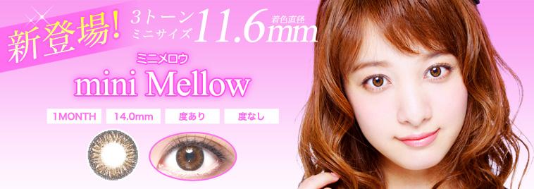 日本製3トーンミニmini Mellow(11.6mm)新発売!